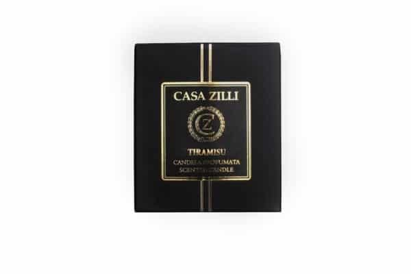 Casa Zilla Candle Tiramisu Box